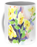 Yellow Magnolias Coffee Mug