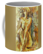 Yellow Nude Coffee Mug