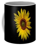 Yellow On Black Coffee Mug