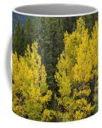 Yellow On Green Coffee Mug