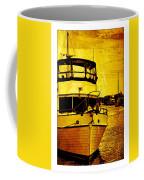 Yellow On The Water Coffee Mug
