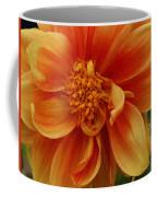 Yellow Orange Dahlia Coffee Mug