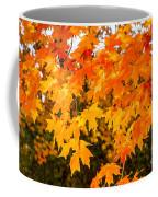 Yellow Orange Fall Tree Coffee Mug