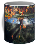 Yellow Orange Leaves Coffee Mug