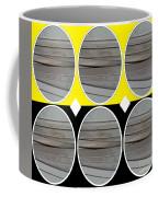Yellow Oval Coffee Mug