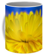 Yellow Petal Explosion Coffee Mug