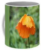 Yellow Poppy - Morning Dew Coffee Mug