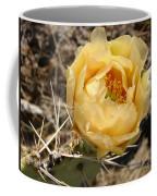 Yellow Prickly Pear Coffee Mug
