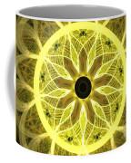 Yellow Rays Coffee Mug