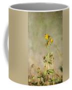 Yellow-red Wildflower With Texture Coffee Mug