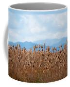 Yellow Reeds And Blue Mountains Coffee Mug