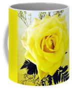 Yellow Rose 2 Coffee Mug