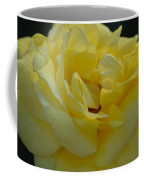 Yellow Rose Frills Coffee Mug