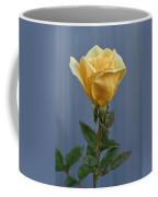 Yellow Rose Greeting Card Coffee Mug