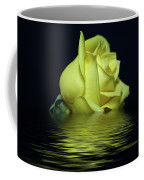Yellow Rose II Coffee Mug by Sandy Keeton