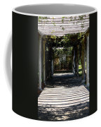 Yellow Rose Pergola Coffee Mug