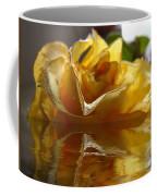 Yellow Rose Wet And Dry Coffee Mug
