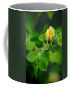 Yellow Rosebud Coffee Mug