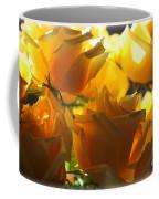 Yellow Roses And Light Coffee Mug