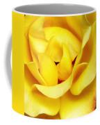 Yellow Sapphire Rose Palm Springs Coffee Mug