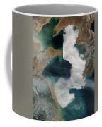 Yellow Sea - Satellite View Coffee Mug