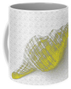 Yellow Seashell Coffee Mug