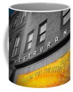 Yellow Sign Theatre Coffee Mug