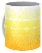 Yellow Spirograph Coffee Mug