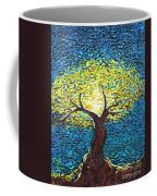 Yellow Squiggle Tree Coffee Mug