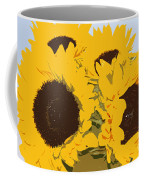 Yellow Sunflowers Coffee Mug