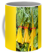 Yellow Swiss Chard Coffee Mug