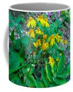 Yellow Tilt Coffee Mug