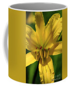 Yellow Too Lily Flower Art Coffee Mug