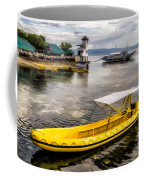 Yellow Tour Boat Coffee Mug