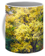 Yellow Tree Coffee Mug