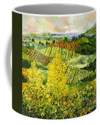 Yellow Trees Coffee Mug