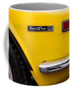Yellow Triumph Spitfire Coffee Mug
