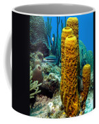 Yellow Tube Sponge Coffee Mug