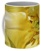 Yellow Tulip Abstract Coffee Mug