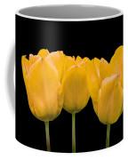 Yellow Tulip Triple Coffee Mug