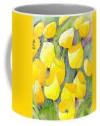 Yellow Tulips 2 Coffee Mug