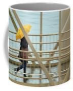 Yellow Umbrella Coffee Mug
