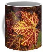 Yellow Veins Coffee Mug