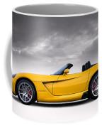 Yellow Viper Roadster Coffee Mug