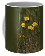 Yellow Wild Flowers Along The Chehalis Trail Coffee Mug