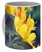 Yellow Wild Flowers Coffee Mug