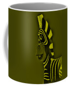 Yellow Zebra Coffee Mug