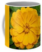Yellow Zinnia Coffee Mug
