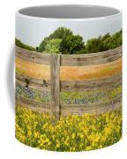 Yellows Plus Coffee Mug