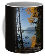 Yellowstone Lake At Dusk Coffee Mug
